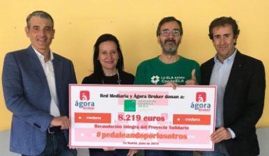 PUNTO y FINAL A LA ACCIÓN SOLIDARIA CONJUNTA DE RED MEDIARIA Y AGORA BROKER