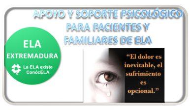 """16 de Junio 2018 - Taller """"APOYO Y SOPORTE PSICOLÓGICO PARA PACIENTES Y FAMILIARES DE ELA""""."""