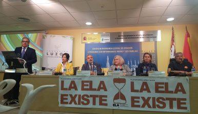 """Los enfermos de ELA son los más débiles de entre los débiles"""". Inaugurado el IX Encuentro de Afectados de ELA"""